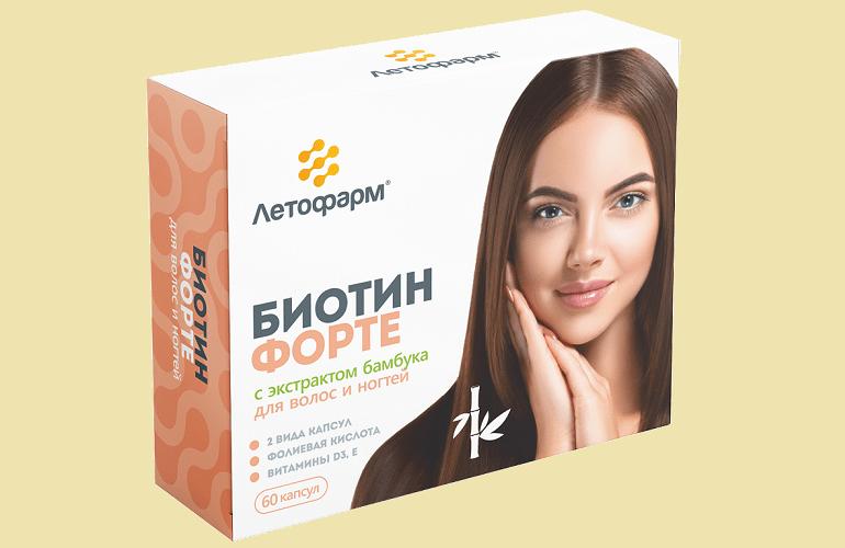 Препарат Летофарм Биотин форте