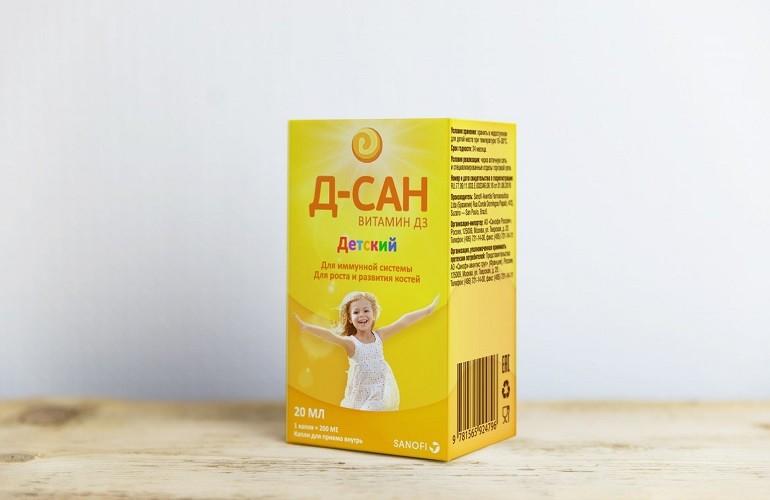 Препарат Д-сан