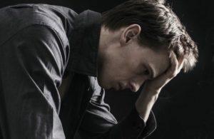 Депрессия у мужчины