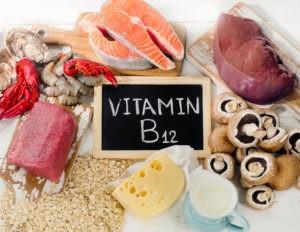 Витамин В12 в продуктах питания