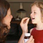 Прием витаминов Алфавит для детей