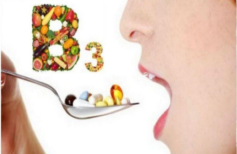 Роль в организме человека витамина В3