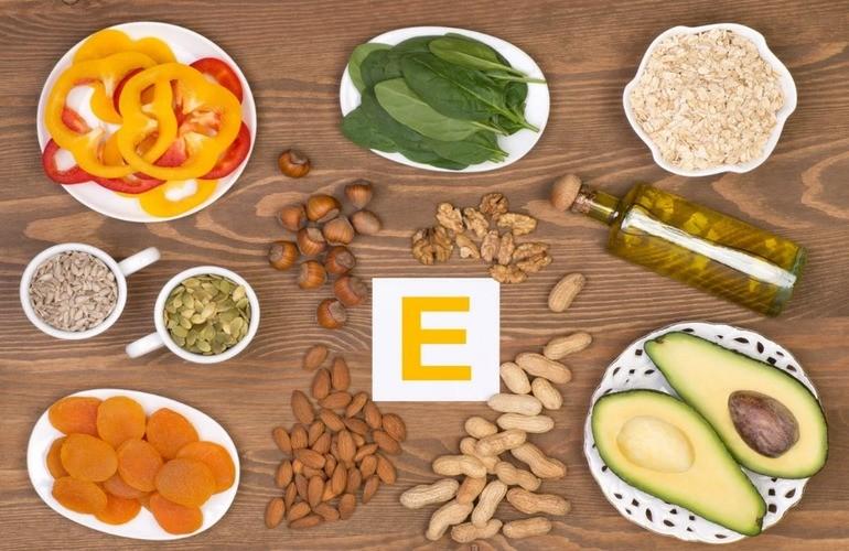 Содержащие продукты витамин е