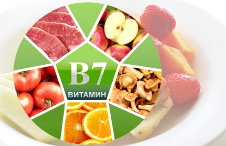 Витамин В7 для организма