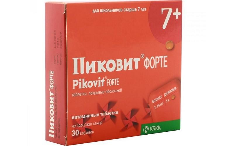 Препарат Пиковит Форте 7+