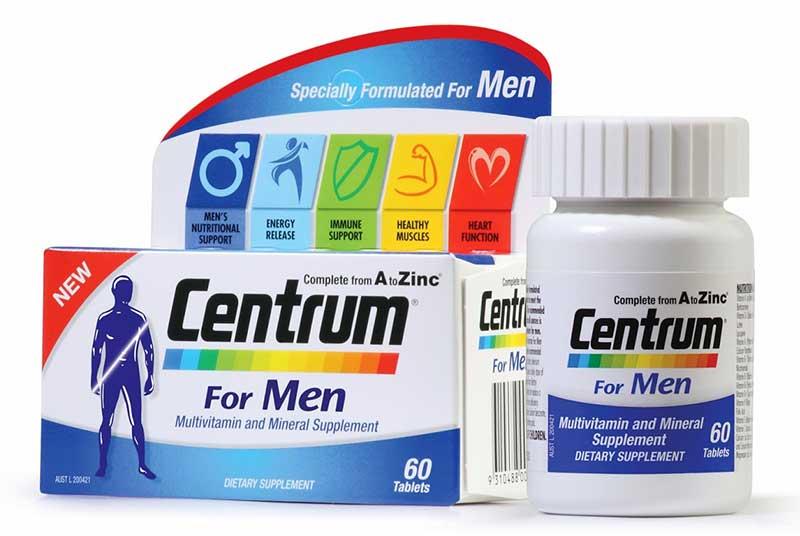 витамины для мужчин после 40