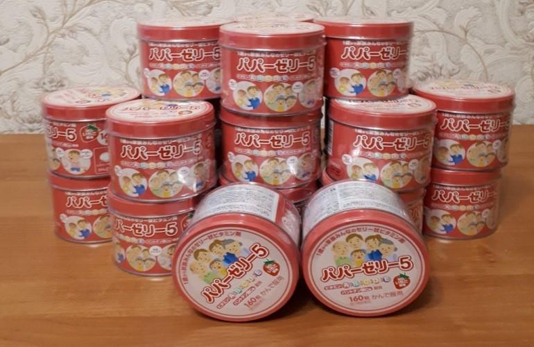 Детские витамины из Японии