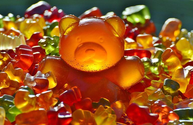 Детские витамины в виде мишек