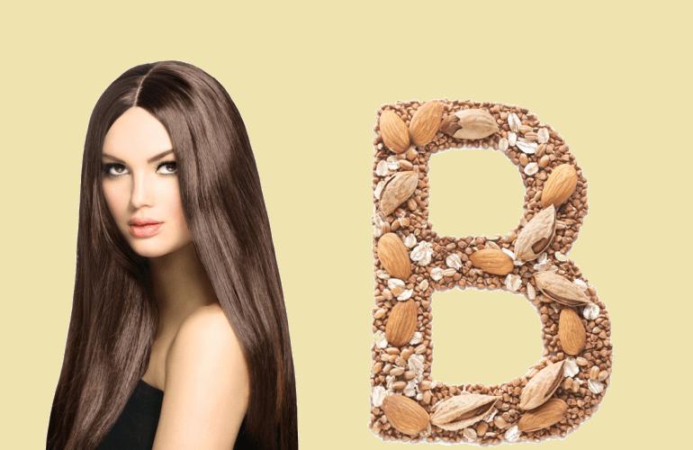 Витамин В для волос