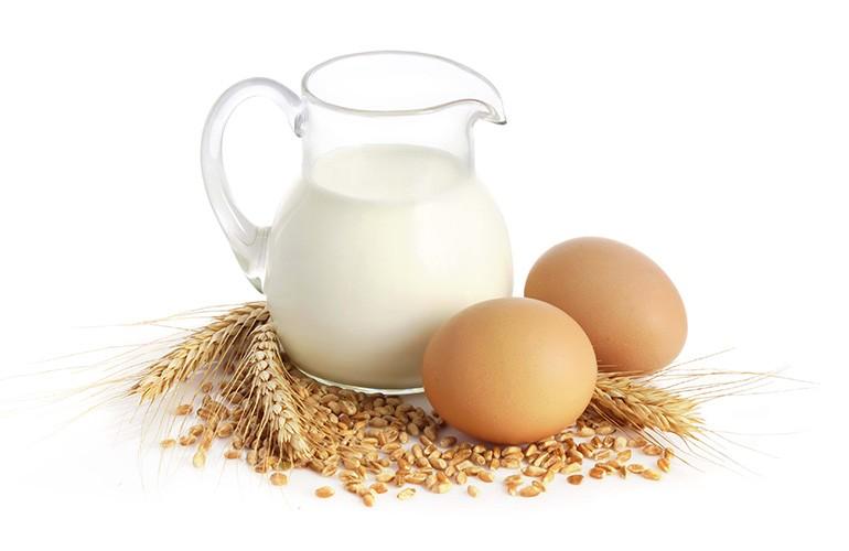 Яйца и молоко