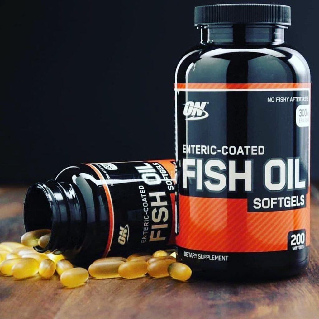 добавка Fish Oil Softgels