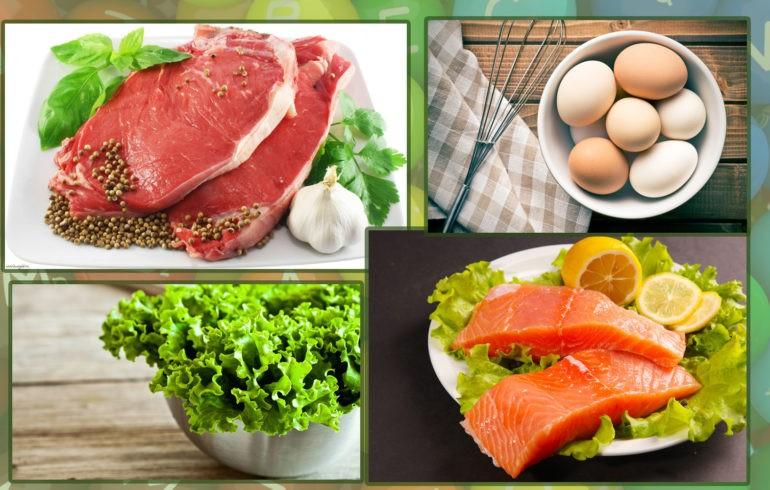 Продукты наиболее богатые витаминами