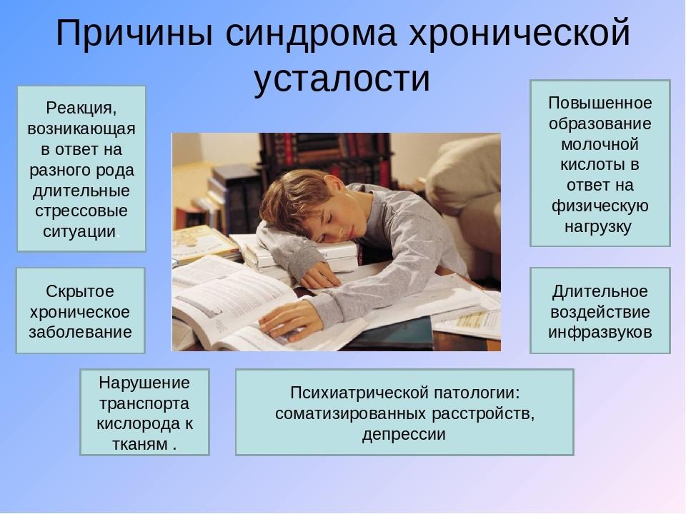 Хроническое заболевание может проявляться сильной усталостью
