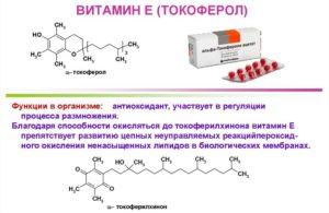 Токоферол (витамин Е)
