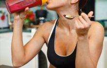 Витамины для женщин при занятиях спортом