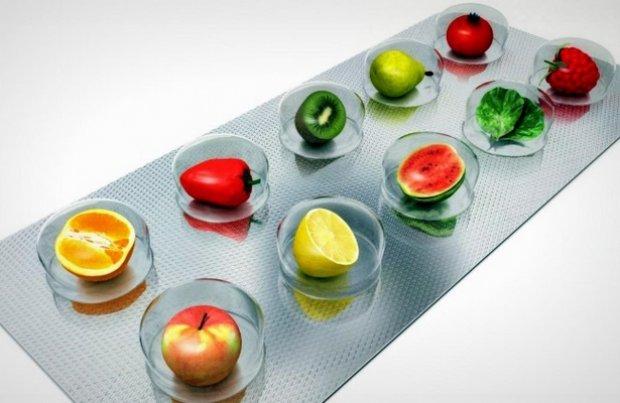 Витамины для бодрости содержаться в овощах, фруктах и аптечных комплексах