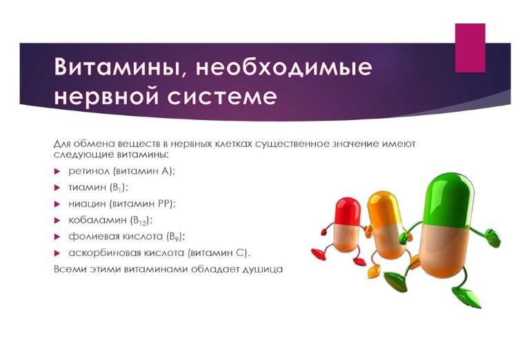 Витамины для ЦНС