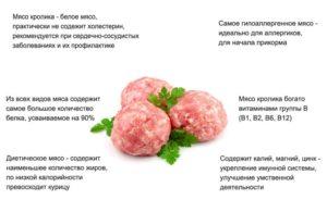 Витамины в мясе кролика