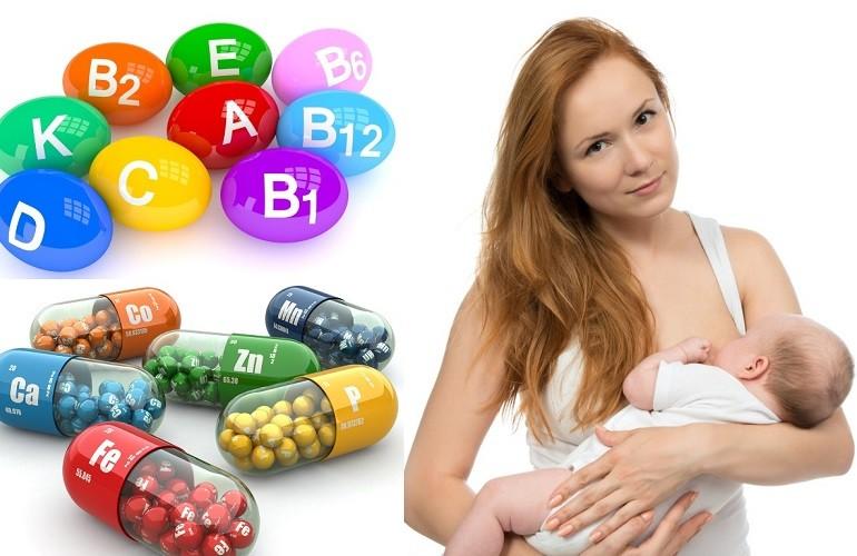 Витамины при грудном вскармливании для мамы после родов: какие можно пить