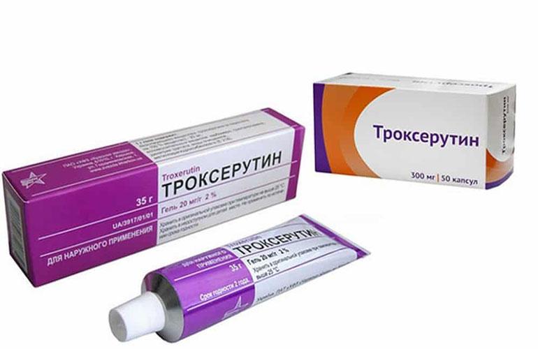 Лекарство Троксерутин