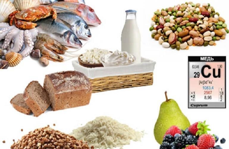 витамины с медью