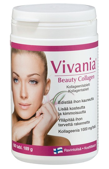 Витамины Vivania collagen beauty